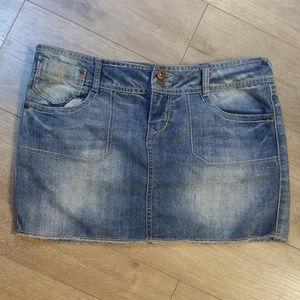 SO Jean Mini Skirt